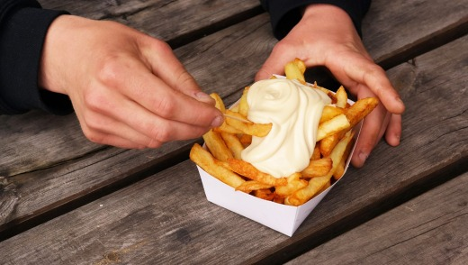 Wherever you go in Brussels, Antwerp or Bruges, no-frills friteries can be found, serving hot, fried potato sticks for a ...