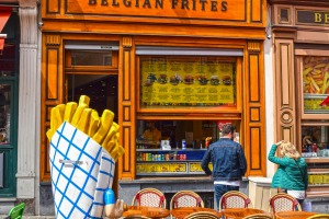 Belgian fries.