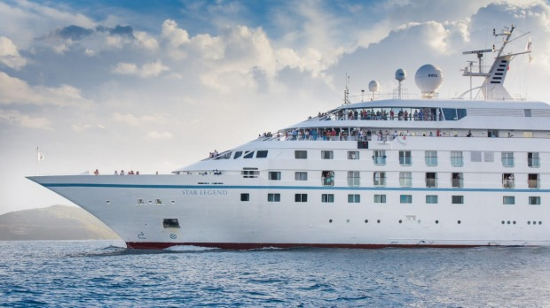 Star Legend is one of three Windstar Cruises' ships being lengthened by about 25.6 metres and increasing passenger ...