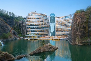 The InterContinental Shanghai Wonderland:  This 336-room hotel took more than 10 years to develop – that's because it ...