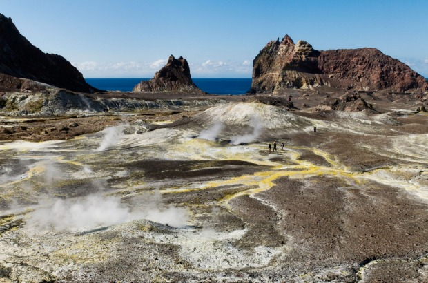 Walking tours of this geothermal wonderland take you past steaming fumaroles, boiling pits of mud and fluorescent acid ...