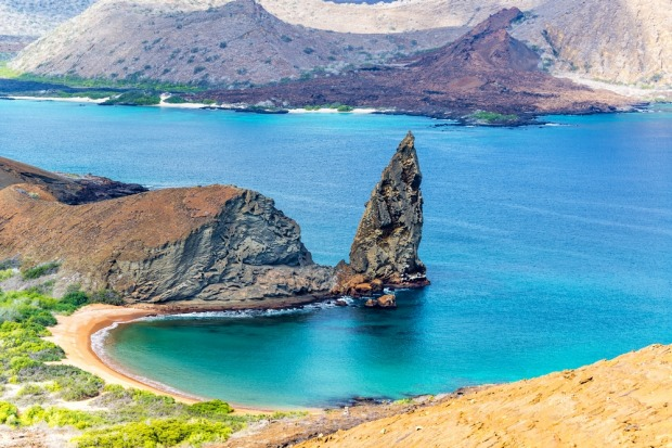 Galapagos Islands, Ecuador: Shaped by ongoing volcanic activity, much of the Galapagos archipelago resembles a ...