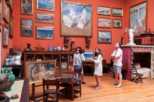 MUSEO SOROLLA: This was once the home of the early 20th-century Impressionist and portrait artist Joaquín Sorolla, who ...