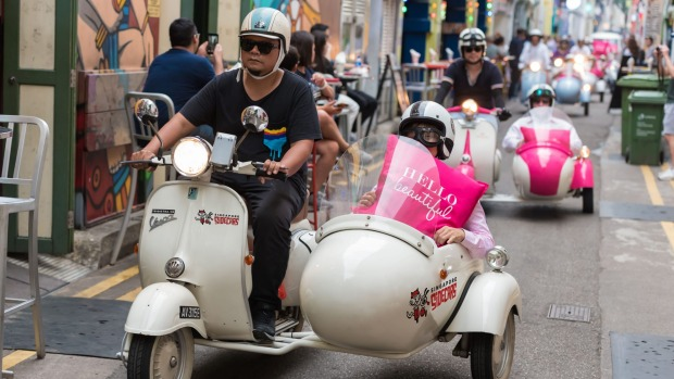 Fullerton Hotel's Singapore Sidecar tours: A new way to see