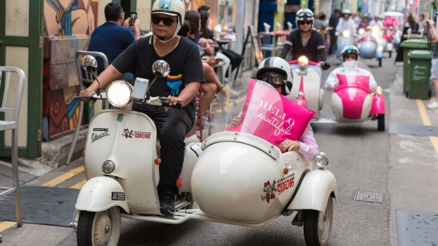 Fullerton Hotel's Singapore Sidecar tours: A new way to see the city