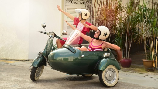 Singapore Sidecars tours are offered by the city's Fullerton Hotel.