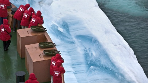 Sailing in the Arctic with Poseidon Expeditions.