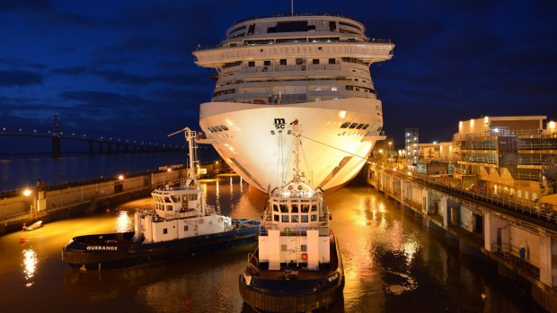 MSC Bellissima will make its maiden voyage from Southampton to Barcelona in March.