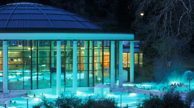 The Caracalla Therme is one of the more modern spas in Baden-Baden.