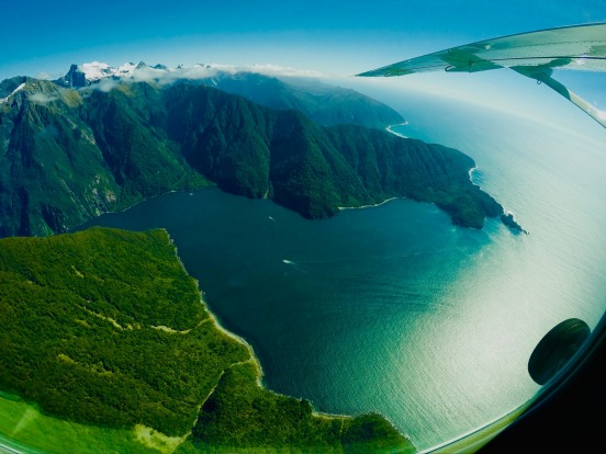 MILFORD SOUND, SOUTH ISLAND, NEW ZEALAND: It's one thing to drive to, and cruise around, the magnificent Milford Sound; ...