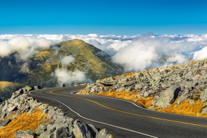 Mt Washington Auto Road is not for the faint-hearted.