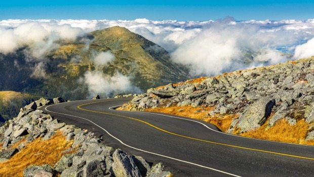 Driving Mt Washington Auto Road, New Hampshire: The surprising ...
