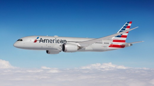 American Airlines Boeing 787-8.