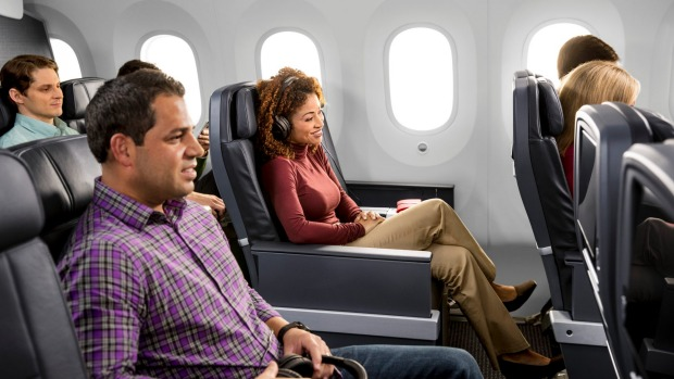 American Airlines offer a well-thought out cabin experience for premium economy passengers on its Boeing 787-9.