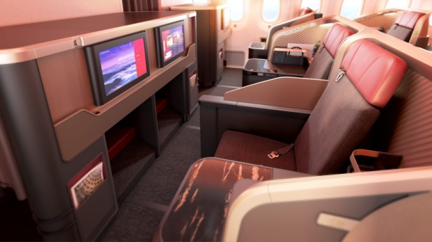 A 1-2-1 configuration offers direct aisle access from every seat, something the airline's current business class layout ...