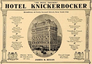 Historic: The Knickerbocker Hotel.