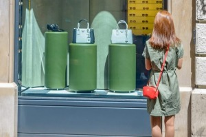 Via Condotti in Rome is a popular shopping spot for luxury goods and you can save a bundle on them if you know how.