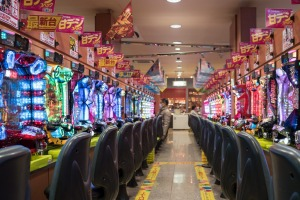 Balls up: In which country would you find a pachinko parlour?