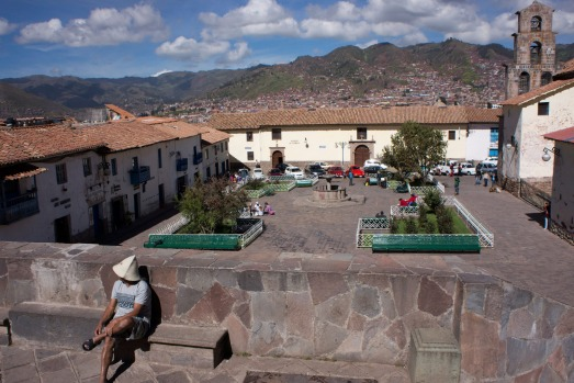 SAN BLAS DISTRICT: Follow the cobblestoned Inca road Hatunrumiyoc past churches, bars, restaurants and the famous ...