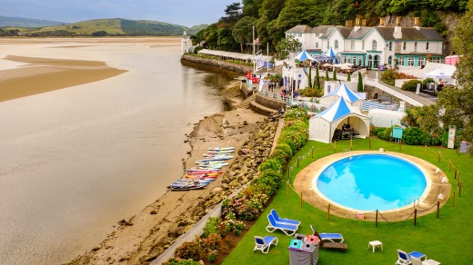 The Hotel Portmeirion.