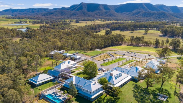 Luxurious Spicers Guesthouse in the Hunter Valley.