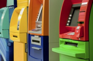 ATM withdrawals slow, pointing to a slowdown in the use of cash for everyday purchases