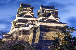 Kumamoto, on the island of Kyushu, is home to one of Japan's most famous castles.
