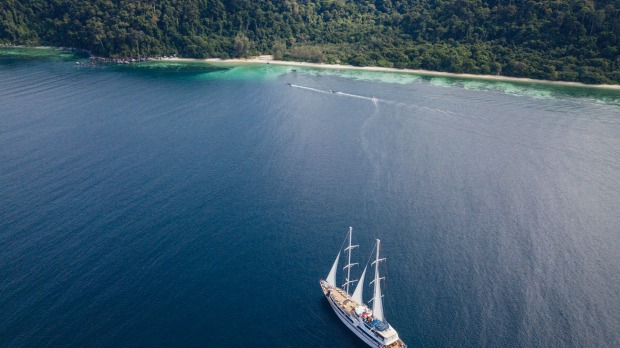 Peregrine Adventures offers a trip around Thailand and Malaysia on what is essentially a sailing yacht, with a flexible ...