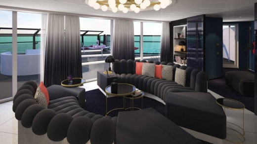 The line hired star British designer Tom Dixon to develop the suites.