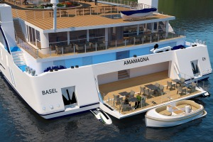 APT is launching its biggest ship on Europe's rivers, the 196-passenger AmaMagna.