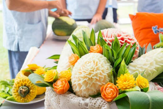 FRUIT AND VEGETABLE CARVING: If you've mastered Thai cooking, perhaps you'd like to add another string to the culinary ...