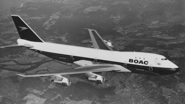 35d18673a1 The British Airways jumbo will be braned BOAC - for the airline s previous  name British Overseas