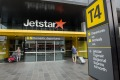 Passengers check in at the T4 Jetstar terminal at the infuriating Melbourne Airport.