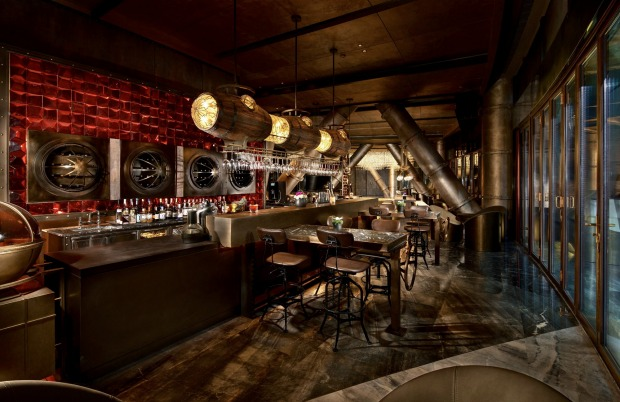 The popular Quarry bar, which sports a low-key steampunk vibe and opens up onto a lakeside terrace which is perfect for ...