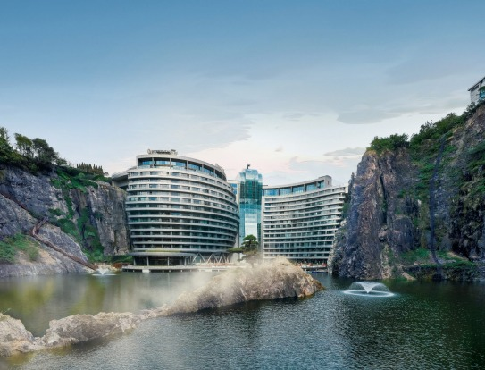 Photos: InterContinental Shanghai Wonderland has been designed with Chinese feng shui principles in mind and, from ...