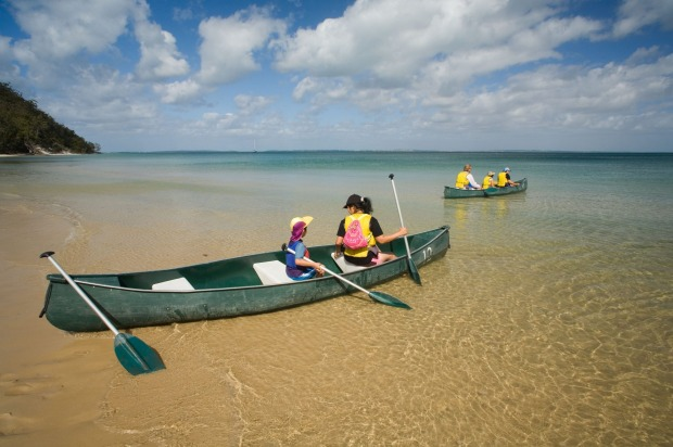 Fraser Island, Queensland: An early-morning paddle at Kingfisher Bay Resort is the perfect wake-up call, one that gives ...