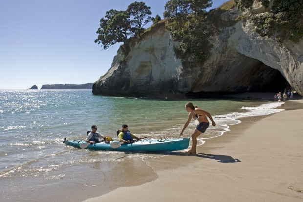 Bay of Islands, NZ: Dotted with 140 subtropical islands, the North Island's Bay of Islands is a marine playground, a ...