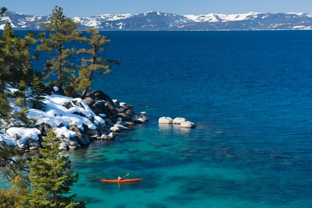 Lake Tahoe, CA: Whether exploring in a kayak or on a stand-up paddleboard, there's no more glorious paddling location ...