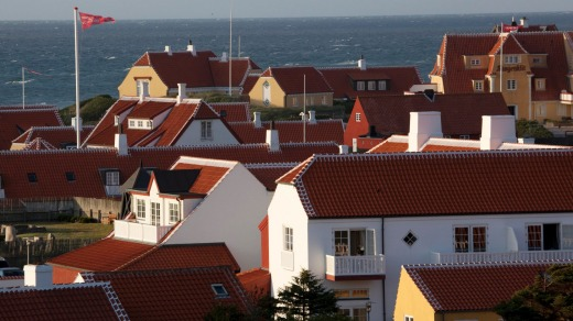 The village of Skagen.