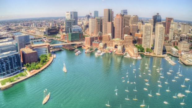 Boston's picturesque waterfront.