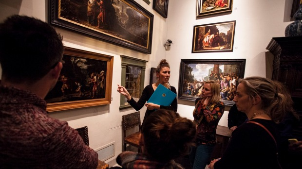 A tour of the Rembrandt House Museum.