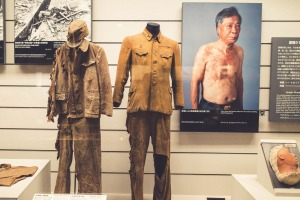 Exhibitions on display at The Nagasaki Atomic Bomb Museum.