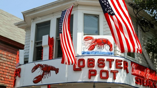 The Lobster Pot, a longtime seafood fixture on Commercial Street, Provincetown, Massachusetts.