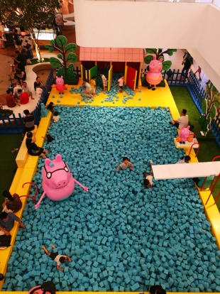 PEPPA PIG US AND CHINA The world's first Peppa Pig World of Play opened within Shanghai's LC Mall in 2018. Young fans of ...