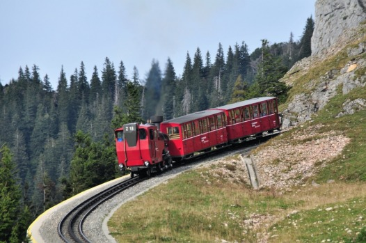 SCHAFBERG RAILWAY, AUSTRIA: Austria's steepest steam cog railway has been hauling passengers from lakeshore St Wolfgang ...
