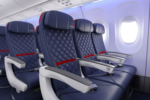 Delta Comfort+ provides an upgraded travel experience in the Main Cabin.