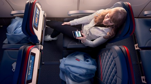 Delta Comfort+ provides an upgraded travel experience.