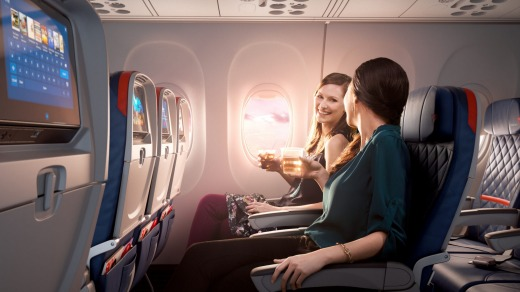 Delta United And American Airlines Replace Economy Seats