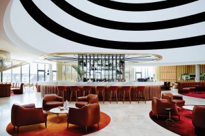 The retro-inspired Vibe Hotel Canberra.