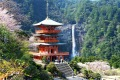 Nachi Taisha, a Shinto shrine on Japan's Kumano Kodo route.